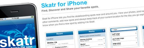 skatr for iphone