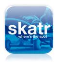 Skatr Skate Spots iPhone App